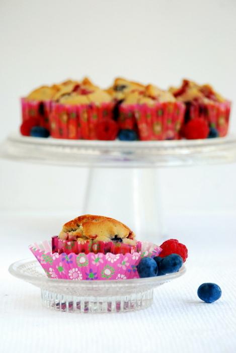 Owocowe muffinki