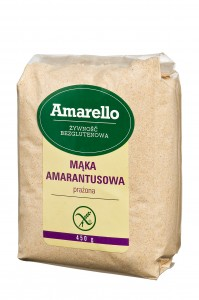 mąka amarantusowa prażona