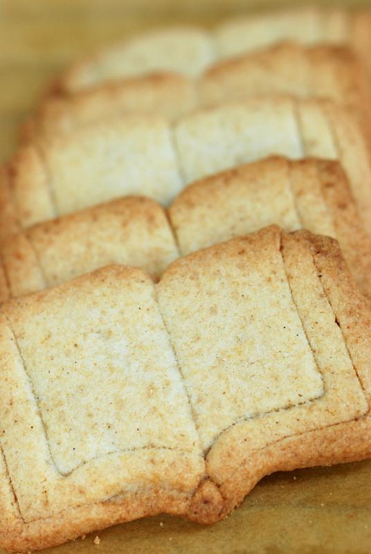 Ciastka zwanilią isolonym kozim masłem
