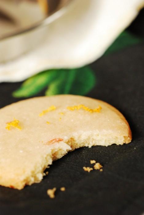 Ciastka zlukrem grejpfrutowym