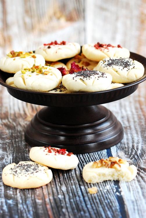 Ryżowe ciastka perskie