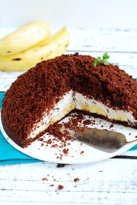 Bezglutenowe iwegańskie ciasto à la kopiec kreta