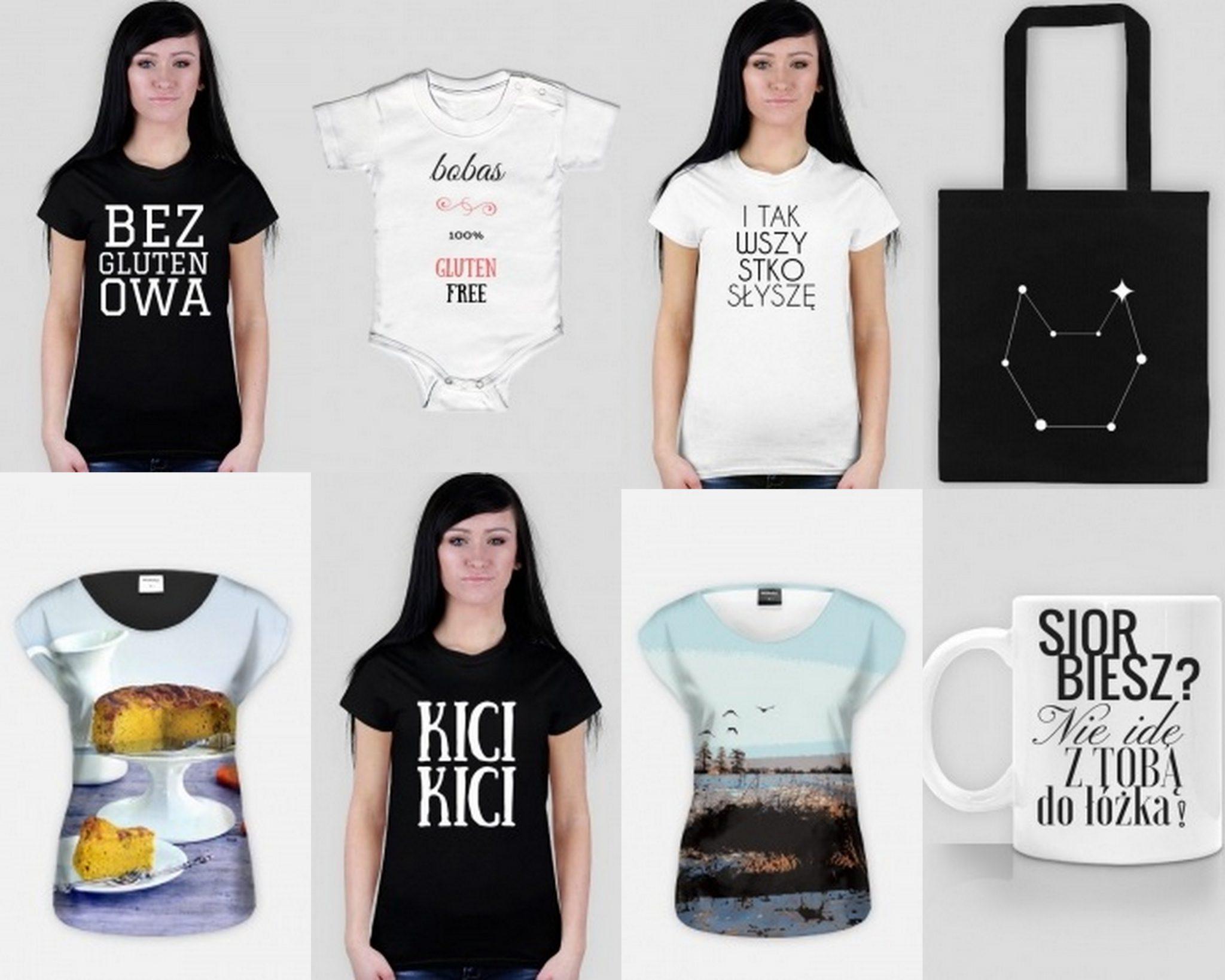 Mój sklepik z koszulkami i gadżetami